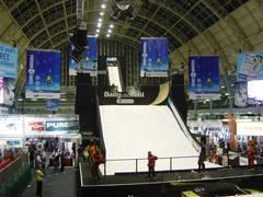 Big air ramp at The Ski Show