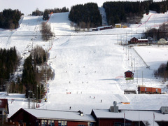 Hafjell lower slopes (click to enlarge)