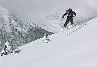 First turns 05/06 at Highwood Pass